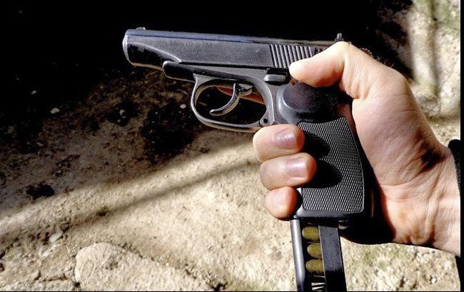 УКиєві стріляли в підприємця при спробі пограбування (відео)