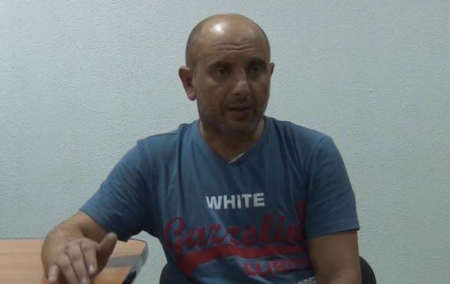 Задержанный вКрыму «диверсант» А.Захтей пожаловался напытки состороны ФСБ