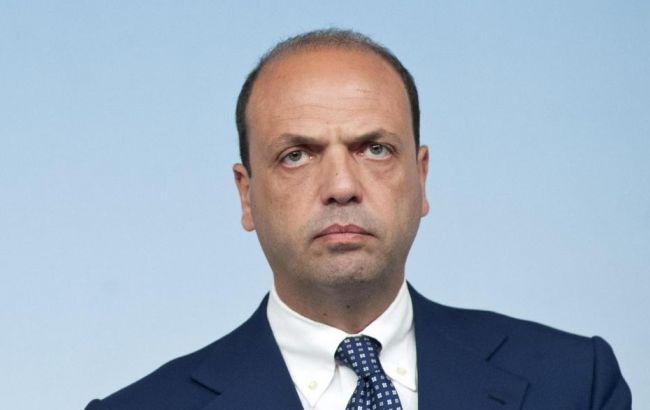 Фото: глава МЗС Італії Анджеліно Альфано