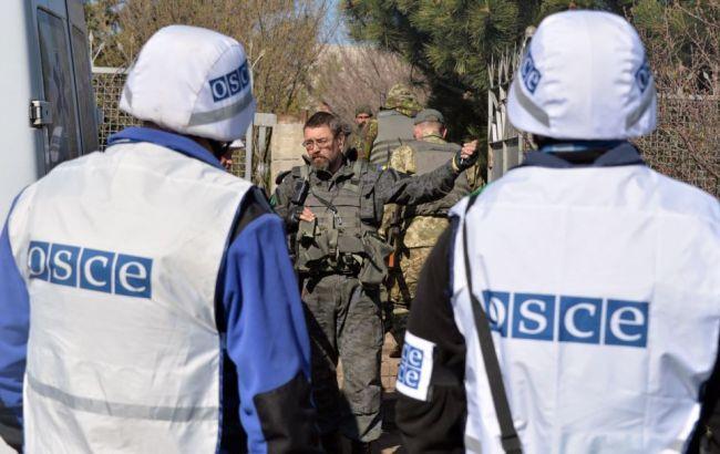 ОБСЕ эвакуировала патрульную базу изСветлодарска