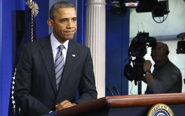 Фото: переобраний президент США Барак Обама (Yahoo News)