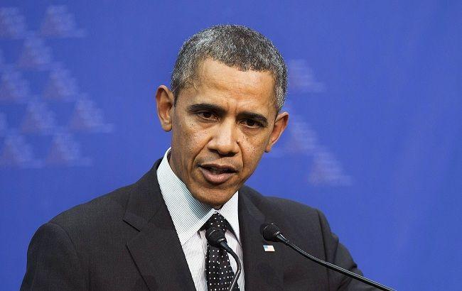 Обама: РФидальше поддерживает военных марионеток вгосударстве Украина