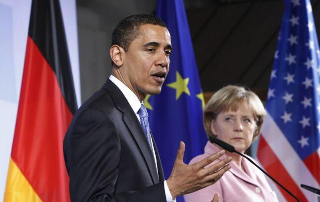 Обама відклав постачання зброї Україні після розмови з Меркель