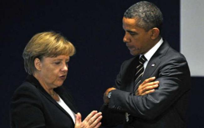 Обама иМеркель осудили авиаудары поАлеппо
