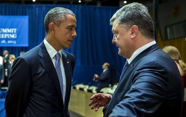Обама встретится с Петром Порошенко