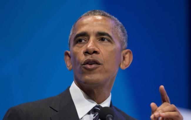 Фото: Барак Обама выступил в Чикаго с прощальной речью