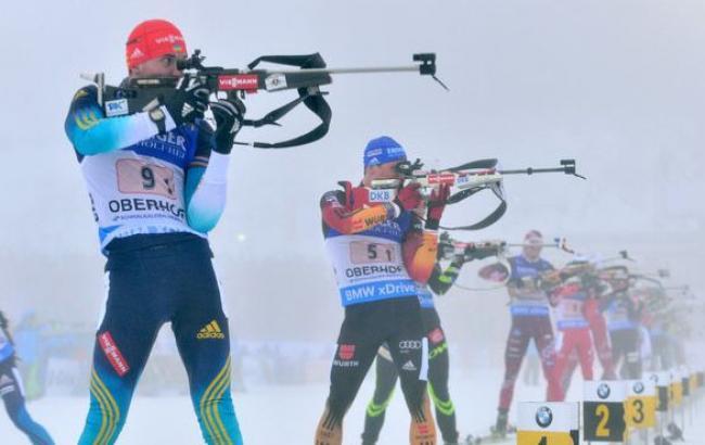Фото: Украинские биатлонисты завоевали бронзу в классическом миксте