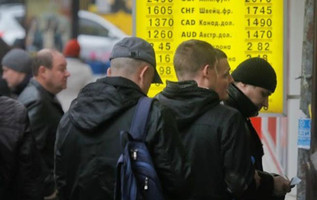 Курс рубля в обменных пунктах украины сегодня