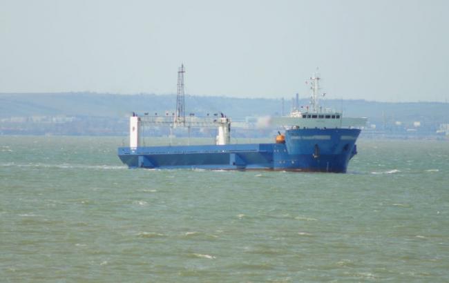 Фото: корабель-порушник (mtot.gov.ua)