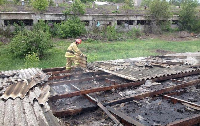 Фото: обстрелы на Донбассе