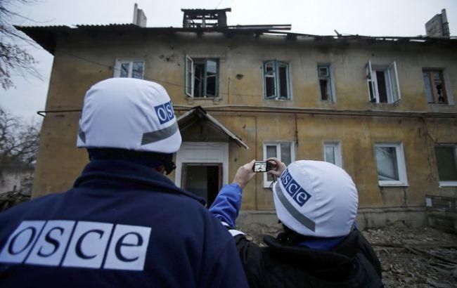 Фото: наблюдатели ОБСЕ