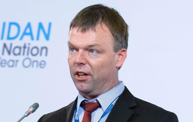 Фото: заступник голови місії ОБСЄ Олександр Хуг