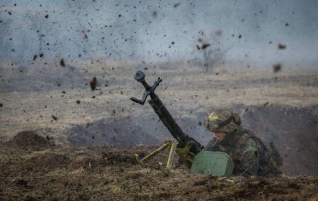 На Донбассе сегодня получил ранения украинский военный