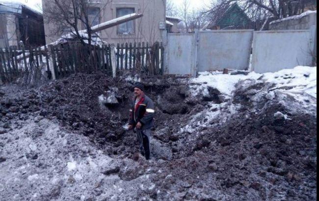 Фото: результаты обстрела Авдеевки