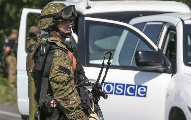 В МИД РФ прокомментировали подрыв автомобиля ОБСЕ на Донбассе