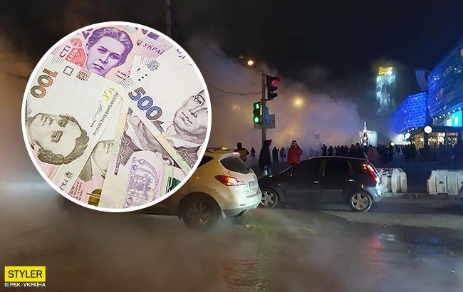 Потоп в Ocean Plaza: во время эвакуации от водителей требовали оплатить парковку