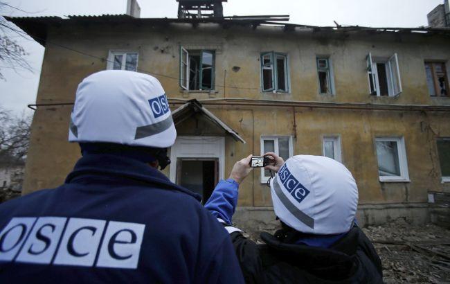 Фото: представители ОБСЕ на Донбассе