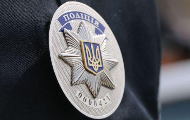 Фото: полицейский жетон (oda.zt.gov.ua)
