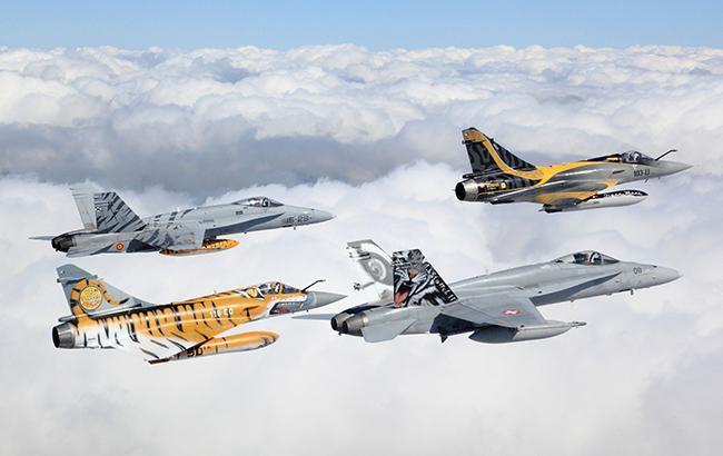 У повітряному просторі країн Балтії почалися військові навчання НАТО Ramstein Alloy