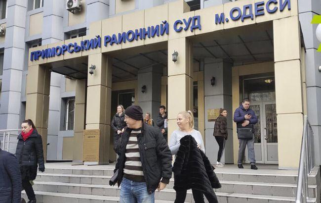 В Одессе обвиняемый с гранатой взял судей в заложники