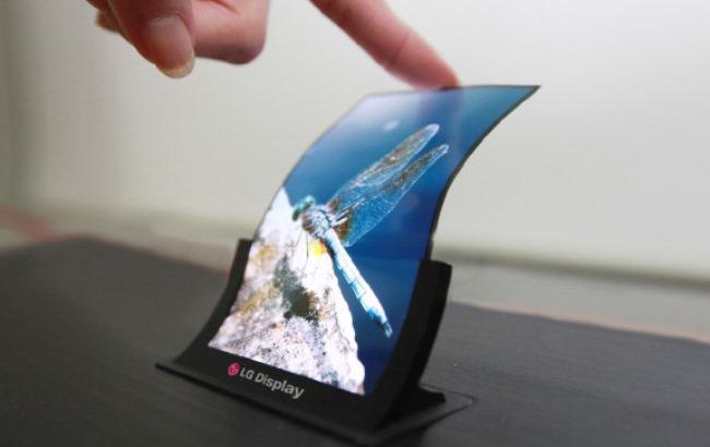 Фото: OLED-дисплей от LG