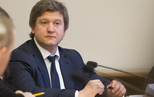 Руководитель министра финансов Данилюк: впарламенте хотят протянуть закон овозвращении налоговой милиции