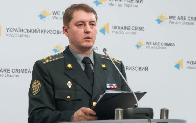 Фото: спікер Міністерства оборони з питань АТО Олександр Мотузяник