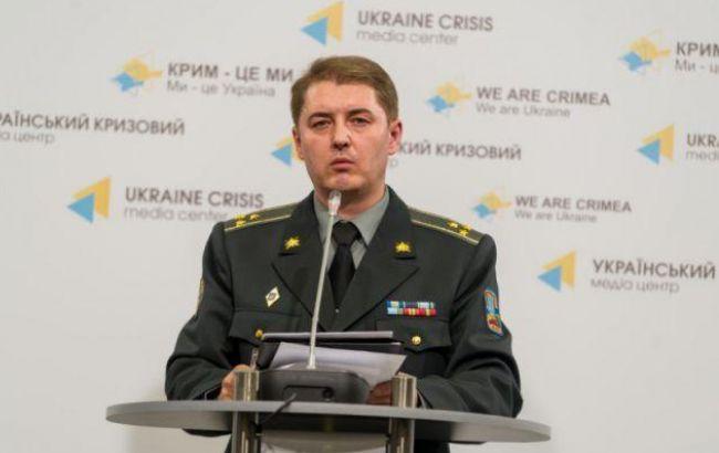 Взоне АТО засутки двое военных погибли идвое ранены— Штаб