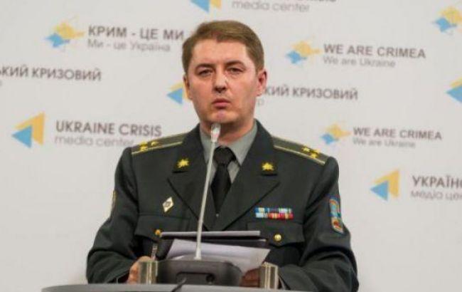 В зоне АТО за сутки погиб один украинский военный, еще трое ранены