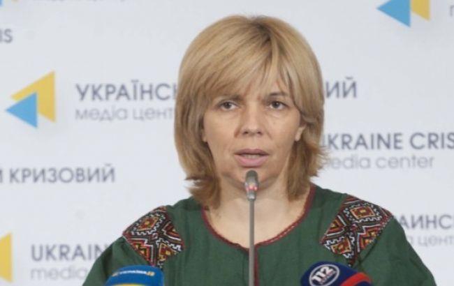 Фото: голова комітету Верховної Ради України з питань охорони здоров'я Ольга Богомолець