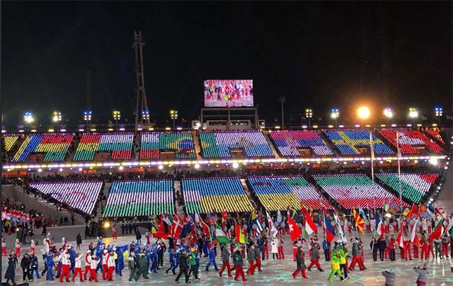 Фото: закриття зимової Олімпіади (olympic.org)