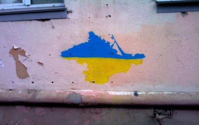 Фото: Графіті на Иртышской набережній в Омську (zik.ua)
