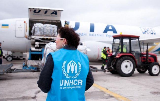 Фото: гуманитарная помощь ООН