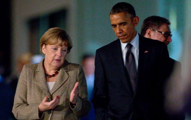 Фото: Барак Обама і Англеа Меркель провели телефонну розмову