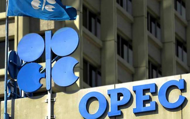 Ціна нафтового кошика ОПЕК опустилася нижче за позначку 45 дол./бар