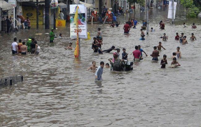 Фото: наводнение стало следствием сильных ливней, начавшихся 4 августа
