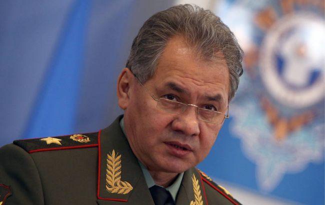 Фото: міністр оборони РФ Сергій Шойгу