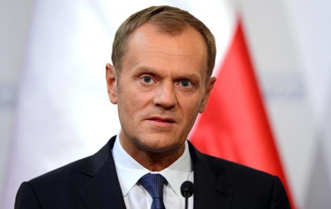 Фото: Дональд Туск наголосив на необхідності завершення ратифікації угоди про асоціацію України з ЄС