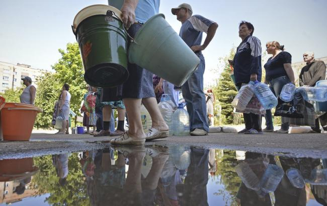 Близько 2,9 млн людей на Донбасі загрожує дефіцит водопостачання, - ООН