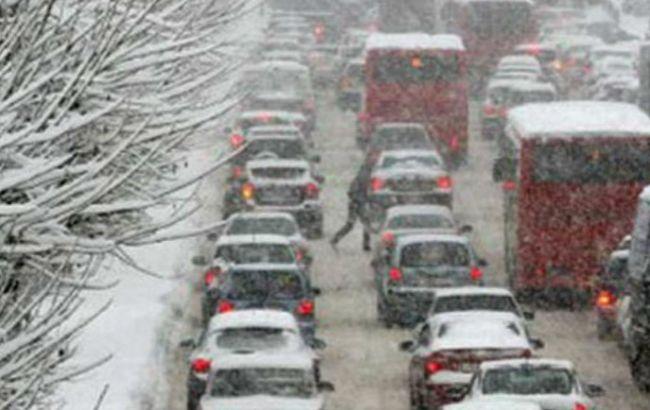 Негода в Україні: автомобільні затори усунені у всіх областях