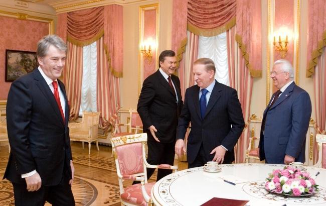 Фото: Украинские гаранты (пресс-служба президента)