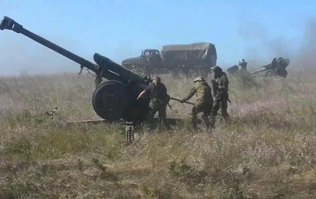 У штабі АТО за добу не зафіксували застосування артилерії бойовиками