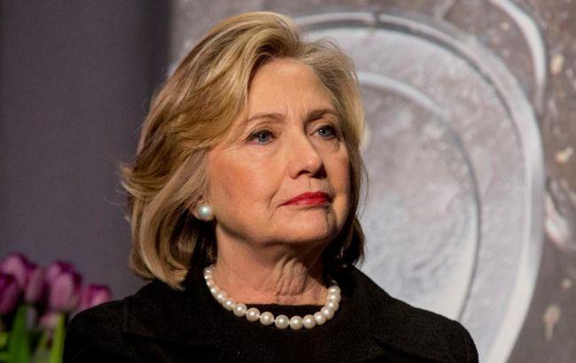 Фото: кандидат в президенти США від Демократичної партії Хілларі Клінтон