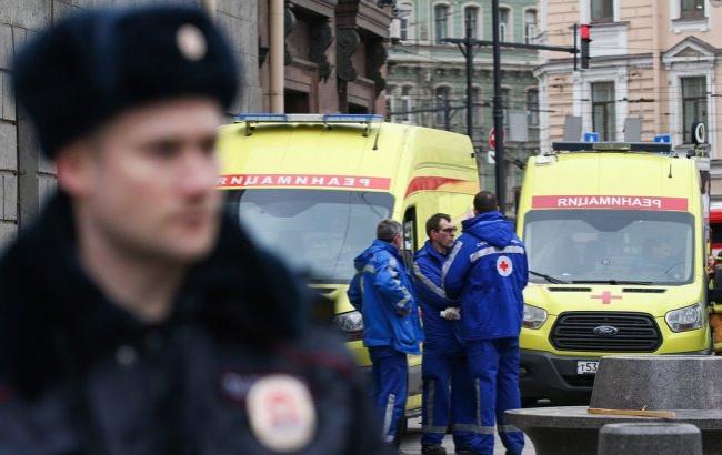 Фото: Теракт в Петербурге
