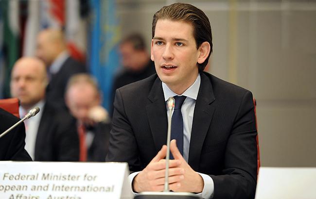 Курц закликав РФ повернутися за стіл переговорів у нормандському форматі