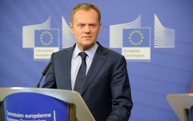 Туск: Україна зробила значний прогрес на шляху до безвізового режиму з ЄС