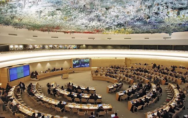 Фото: Совет по правам человека ООН в Женеве