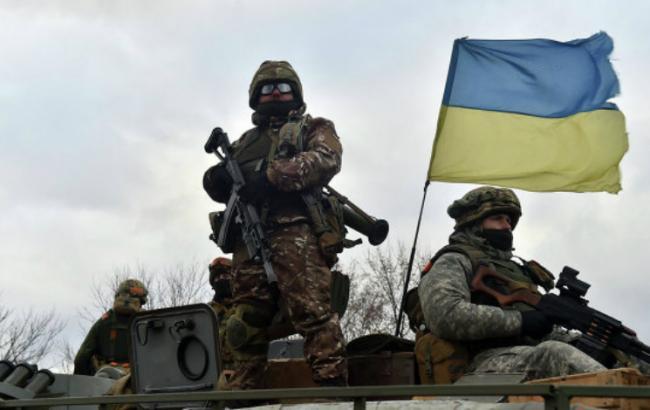 Українські військові виставлять на аукціоні дорожній знак Донецька