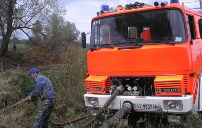 Фото: пожары в Киевской области