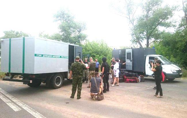 Фото: в Донецкой области состоялась передача осужденных